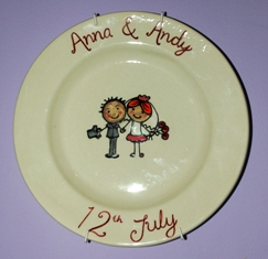 Want To Stray Away From The Dreaded Gift List But Not Sure Where Look With Our Wedding Signature Plates You Can Give